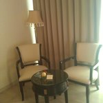 In room dining area