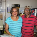 Always friendly proprietors -- Doris & Don Simmons