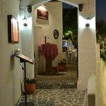 Entrance to Casa Della Pizza