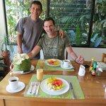 Wonderful breakfast--Elkin