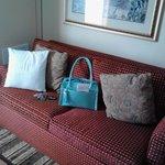 In suite sofa
