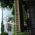 Waterside setting with view of Solomons Harbor