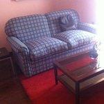 sofá cama de la suite