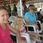 We loved the boat ride
