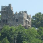 Gillette Castle as seen from the boat. Lots of interesting facts were passed on to us!!