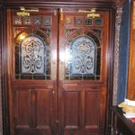 Door to dinning area