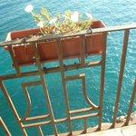 vista dal balconcino