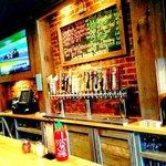 An impressive lineup of craft beers