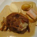 AGNEAU CUIT 7 Heures avec girolles et foie gras