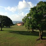 View from the Mango room - complete with mango trees and the water