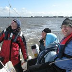 The very first keelboat level 1 course on Morecambe Bay April 2010