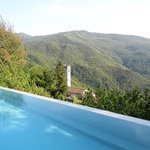 Casoli from the pool