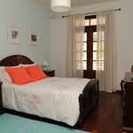 BLUE ROOM - bedroom with double bed, classic decor, spacious, comfortable and balcony