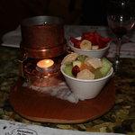 Toblerone fondue!