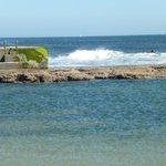 Бассейн на пляже