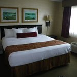 King bed in Presidential suite