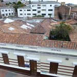 View from the terrace of the rooftops of Candelaria