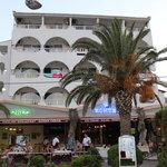 Kontes Beach Hotel From Beach