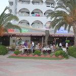 Restaurant From Beach Way