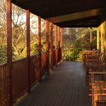 The verandah, great for enjoying the view with the odd glass