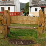Cat and Fiddle Bench at West Terrace, Ullapool