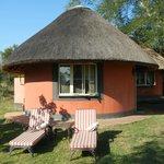 Traditional rondawel huts