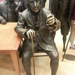 Hall of Signers - Ben Franklin