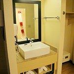 sink area, nice modern fixtures