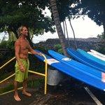 Surfer Bear post-lesson