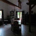 breakfast area in main house
