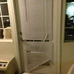 blinds on patio door