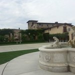 Back patio at Jacuzzi Vineyards