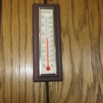 An old thermometer