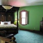 2nd floor (bedroom) of King Arthur suite