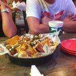 nachos was really good.