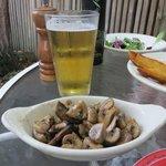 Tapas 3 mit Bier