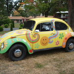Our Landmark Hippie Beetle !