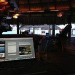 Free Wifi at La Palapa (hotel bar and restaurant)