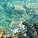 Море там шикарное чистое ласковое
