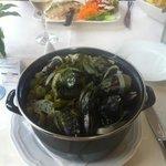 Delicious muscle pot!!! Huge portion