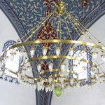 Inner chandelier and decoration