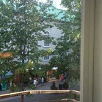 view from room 14 to Rue Sainte-Anne