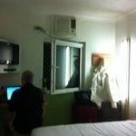 Hotel Room - length of room