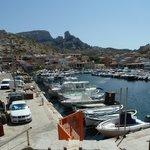 Le Port des Goudes à Marseille