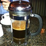 French Pressed Coffee