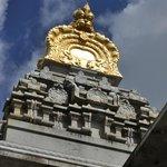 Temple at Hindu Monastery in Kauai