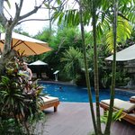 Pool area at RBBC Jimbaran