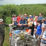 Group at Lady's Abbey, Ardfinnan
