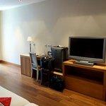 Room with a nice Sony flatscreen