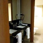Bathroom with double sinks